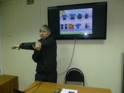 13 июня 2019 года состоялся мастер-класс по теме «Суставная гимнастика». Преподаватель  Огрызков В.М. Обучено 6 специалистов.