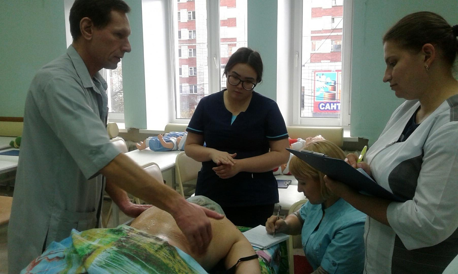 21 октября 2019 года состоялся мастер-класс по теме «Медицинский массаж». Преподаватель Салько С.В. Обучено 5 специалистов.