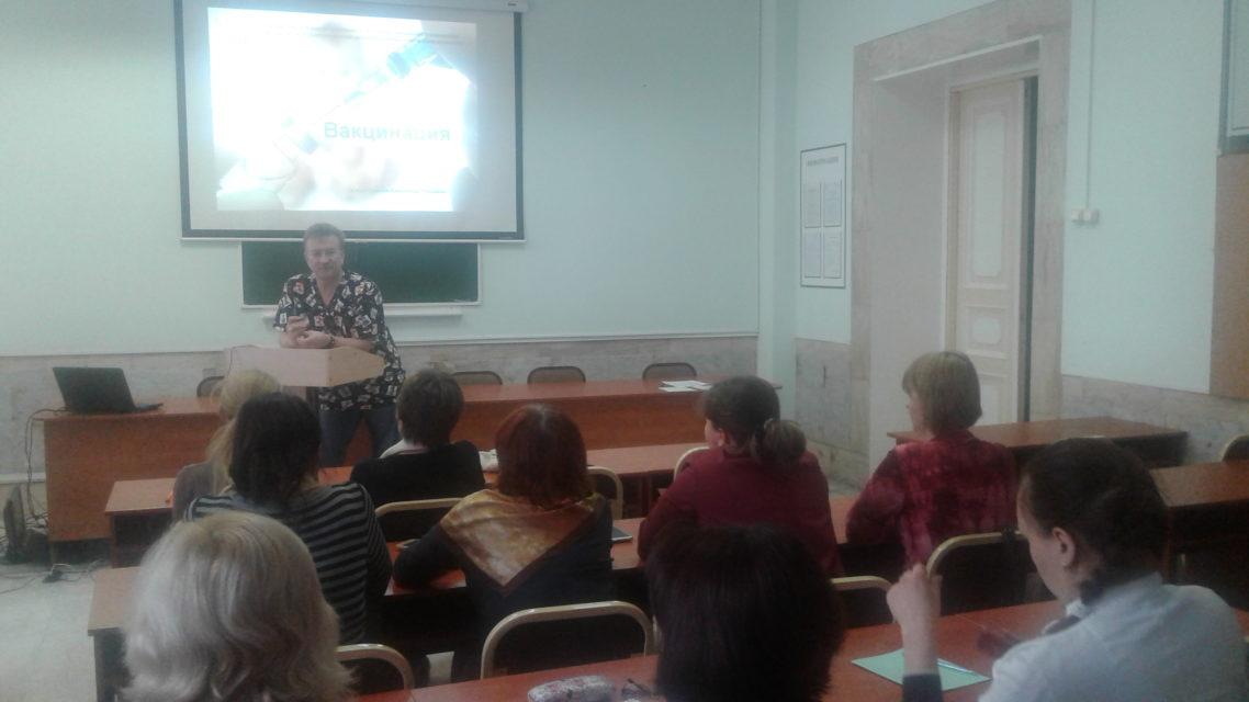 6 декабря 2019 года состоялся семинар по теме «Вакцинопрофилактика в детском возрасте». Преподаватель Смагин А.Ю. Обучено 20 специалистов.
