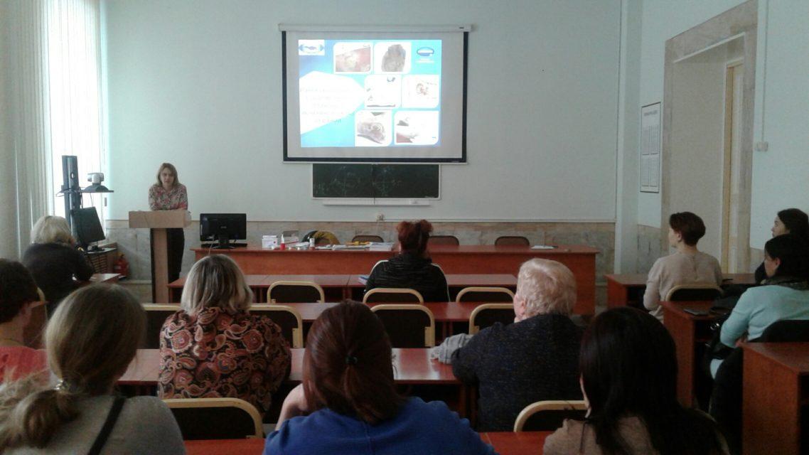 9 января 2020 года состоялся мастер-класс по теме «Раневой процесс. Современные подходы к лечению и уходу за раной». Преподаватель Гордиенко Н.Ю. Обучено 17 специалистов.