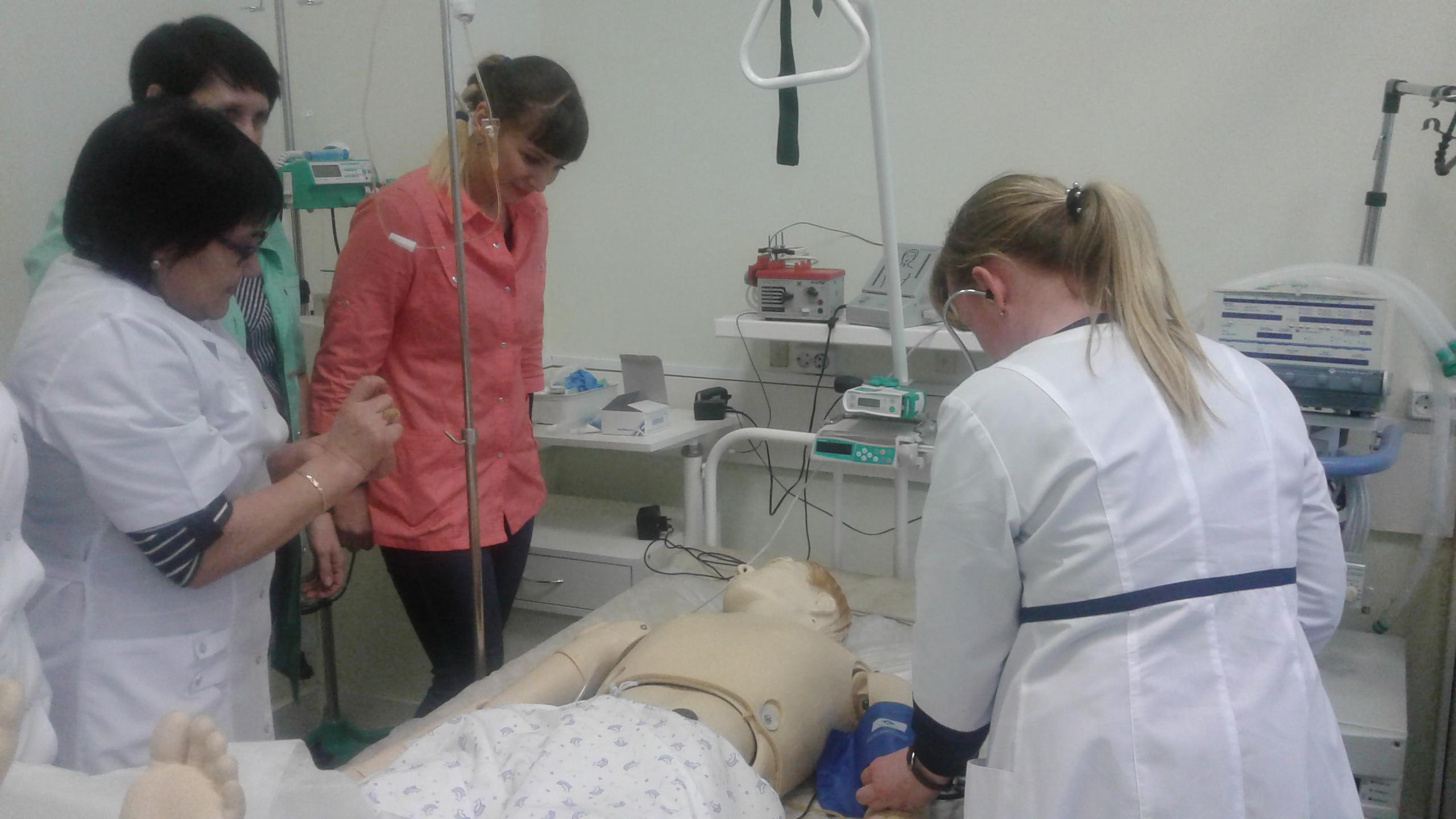 23 января 2020 года состоялся мастер-класс по теме «Неотложная помощь при анафилактическом шоке». Преподаватель Клементьев А.В. Обучено 5 специалистов.