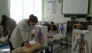 12 марта 2020 года состоялся мастер-класс по теме «Проведение сердечно-легочной реанимации». Преподаватель Клементьев А.В. Обучено 5 специалистов.