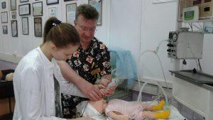 28 февраля 2020 года состоялся мастер-класс по теме «Особенности интубации новорожденного. Вентилятор-обусловленное повреждение легких VILI». Преподаватель  Смагин А.Ю. Обучено  6  специалистов.