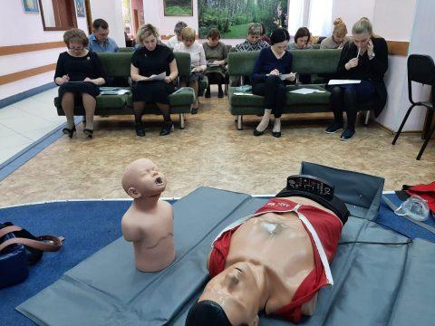 15 января 2021 года состоялся мастер-класс для педагогических работников по теме «Оказание первой помощи». Преподаватель Смагин А.Ю.